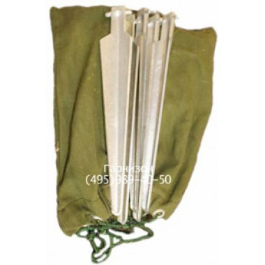Комплект колышек к маскировочным сетям (4шт)