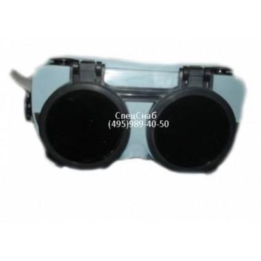 Очки резиновые с клапанами