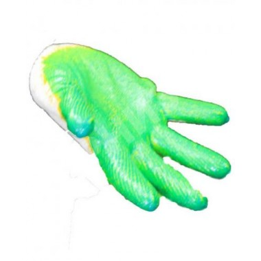 Перчатки одинарный облив