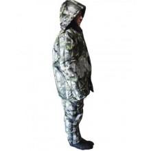 Костюм зимний Охотник (куртка+ полукомбинезон) тк. Микрофибра расцветка Лес