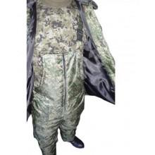 Костюм зимний (куртка+ полукомбинезон) тк. Оксфорд расцветка Цифра