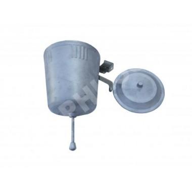 Умывальник алюминиевый с клапаном (производство СССР)