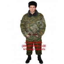 Костюм зимний армейский полевой КМФ Флора (куртка+брюки)