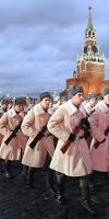 На трибунах за происходящим наблюдали 7 тысяч человек, в том числе ветераны Великой Отечественной войны