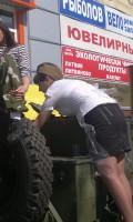 Празднование Дня Победы 9 мая 2013 года г. Москва, Дмитровское шоссе, 80
