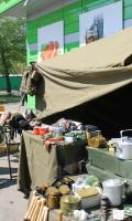 Празднование Дня Победы 9 мая 2013 года г.Москва, ул. Хачатуряна