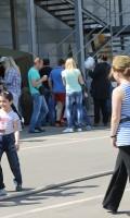 Празднование Дня Победы 9 мая 2013 года г.Москва, Дмитровское шоссе