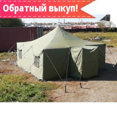 Армейская брезентовая палатка УСТ-56 с производства