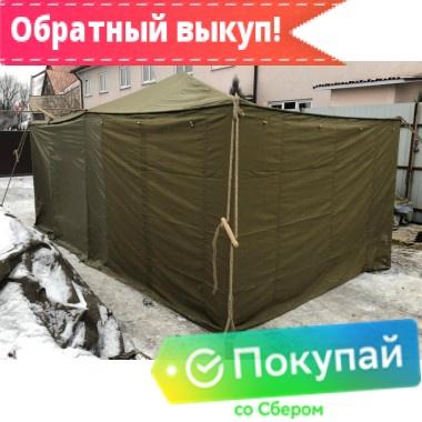 Палатка Гарнизон-8 комбинированная