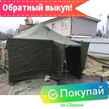 Палатка УСТ-56 зимняя (на металлических стойках)