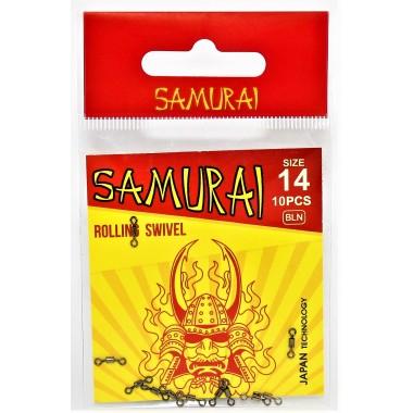 Вертлюжок рыболовный SAMURAI