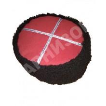 Шапка каракулевая Кубанка черного цвета