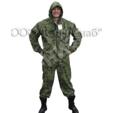 Костюм Маскхалат Цифра светло-зелёный(куртка+брюки)
