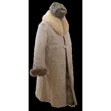 Женский тулуп из овчины - тепло, стильно, неизбито! Фото моделей | 380x380