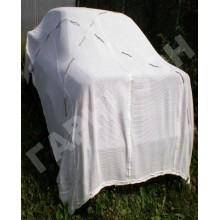 Сеть маскировочная белого цвета МКТ-С (Снег) 3 х 6