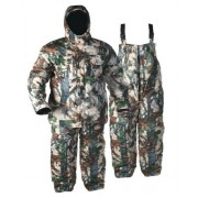 Костюм зимний Охотник (куртка+ полукомбинезон) тк. Олова расцветка Лес