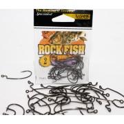 Крючки офсетные ROCK FISH